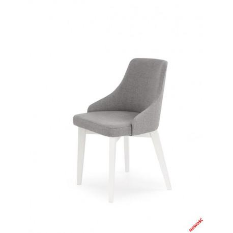 Toledo - krzesło biało-szary