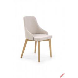 Toledo - krzesło dąb miodowy-jasno beżowy