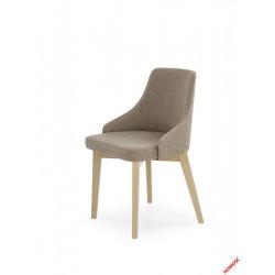 Toledo - krzesło dąb sonoma - ciemny beż